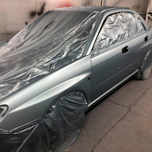 Car Prepared For Respray