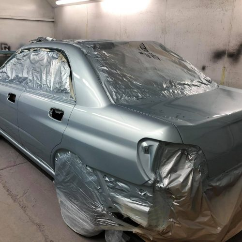 Car Prepared For Respray